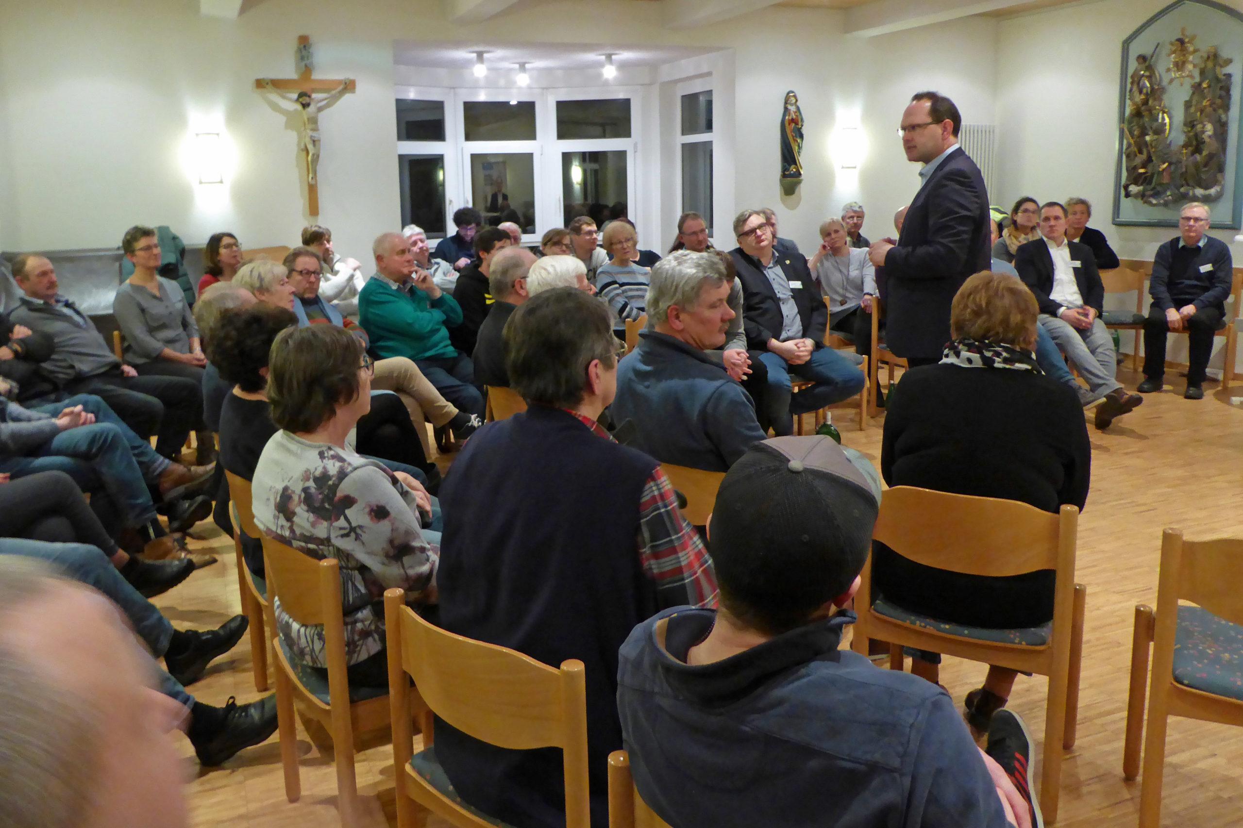 CSU-Bürgerdialog In Mühlbach, Heßlar, Rohrbach Und Karlstadt