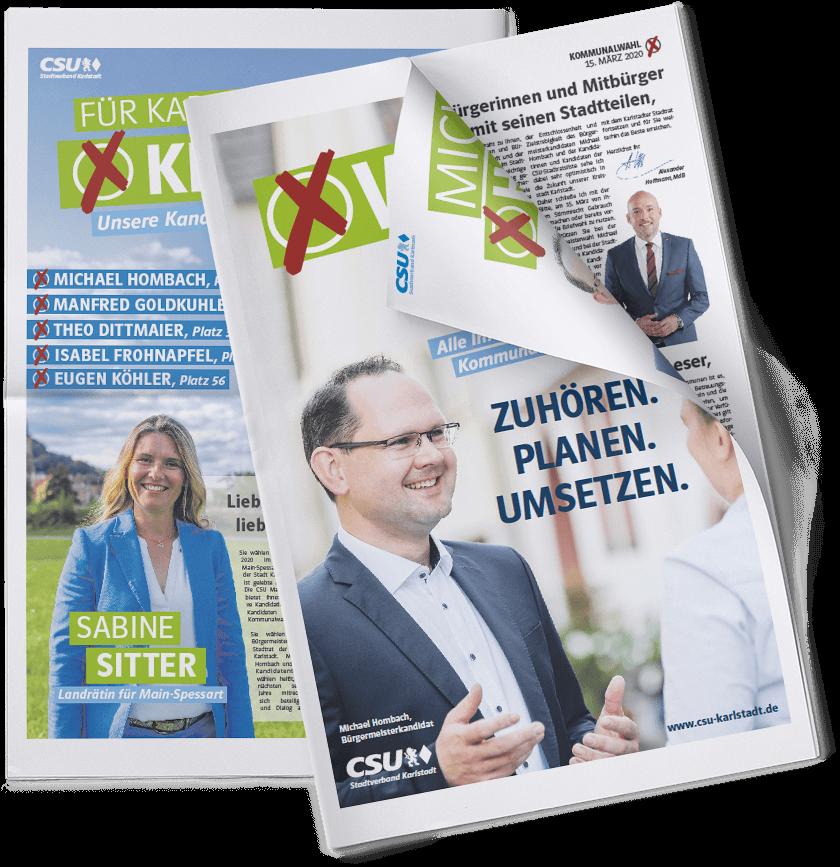 CSU-Wahlzeitung Als EPaper